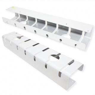 Set 2 bucati organizator cabluri sub birou Alb, Roline 17.03.1304
