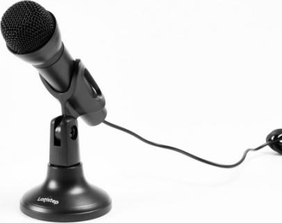 Microfon desktop jack 3.5mm Negru, Logistep LS-MIC800