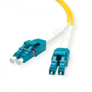 Cablu Jumper Fibra optica LC-LC duplex OS2 1m, Roline 21.15.8781