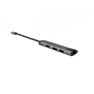 Docking station USB-C la 1 x HDMI 4K@30Hz, 2 x USB 3.0, Gigabit LAN, Verbatim 49141
