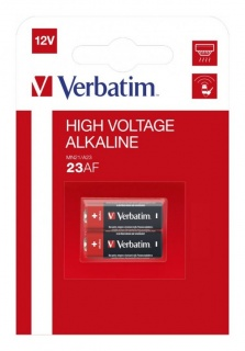 Set 2 baterii pentru telecomanda auto 12V 23A MN21, Verbatim 49939