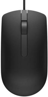 Mouse optic USB Negru, Dell 570-AAIS-05