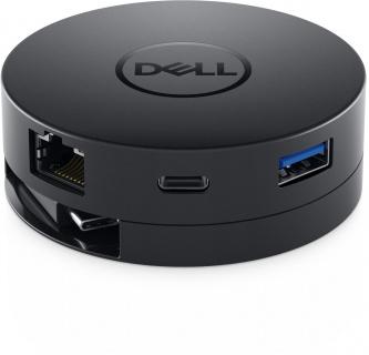 Docking station USB-C la 1 x HDMI-A, 1 x VGA, 1 x Displayport, 1 x USB 3.0-A, 1 x USB-C, 1 x Gigabit, Dell DA300