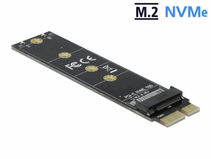 PCI Express la M.2 Key M NVME, Delock 64105
