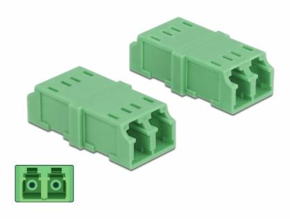 Set 4 buc cupla LC - LC Duplex Multimode M-M, Delock 85924
