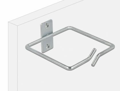 Suport metalic pentru cabluri montare in cabinet 80 x 80mm, Delock 66515