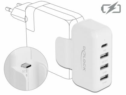 Adaptor pentru alimentator Apple cu PD si Quick Charge 3.0, Delock 64079