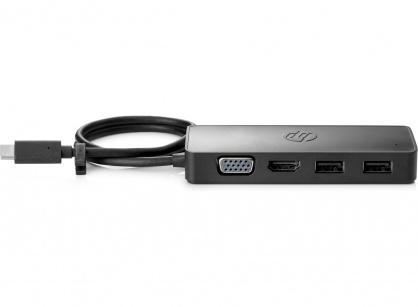 Docking station USB-C la HDMI 4K@30Hz, VGA, 2 x USB-A si PD, HP 7PJ38AA