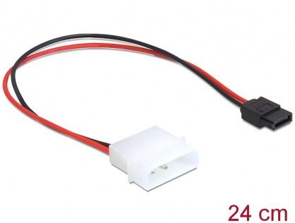 Cablu de alimentare Molex la SATA 6 pini, Delock 82913