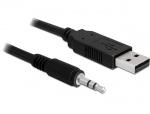 Cablu USB la Serial TTL 3.5 jack 1.8 m (5 V), Delock 83115
