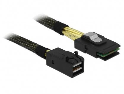 Cablu Mini SAS HD SFF-8643 la Mini SAS SFF-8087 50cm, Delock 83388
