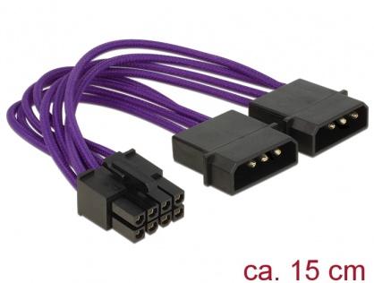Cablu de alimentare 8 pini EPS la 2 x Molex, Delock 83703