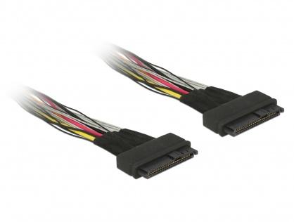Cablu U.2 SFF-8639 M-M 0.5m, Delock 84824