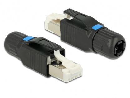 Conector de asamblat RJ45 Cat. 6A, Delock 86265