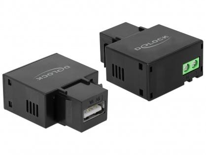 Keystone cu 1 x USB-A mama 5V/1A, Delock 86505