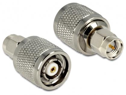 Adaptor RP-TNC Plug la SMA Plug, Delock 88853