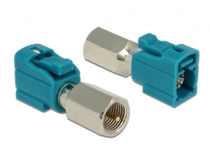 Adaptor FAKRA Z Jack la FME Plug, Delock 88927