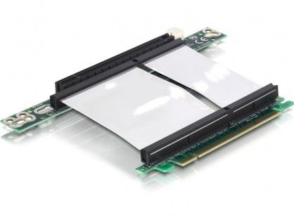 Riser card PCI Express x16 insertie stanga, cablu flexibil, Delock 89130