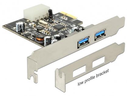 PCI Express USB 3.0 2 porturi, Delock 89241