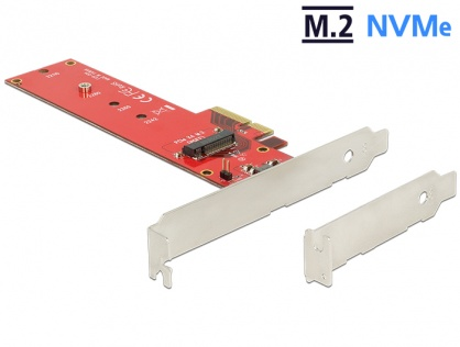 PCI Express la 1 x port internal NVMe M.2 NGFF, Delock 89455