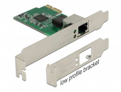 PCI Express cu un port 2.5 Gigabit LAN, Delock 89531