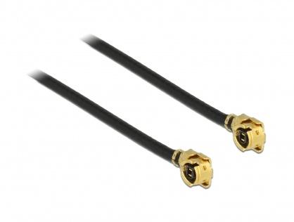 Cablu antena MHF / U.FL-LP-068 plug la MHF / U.FL-LP-068 plug 20cm 1.13, Delock 89608