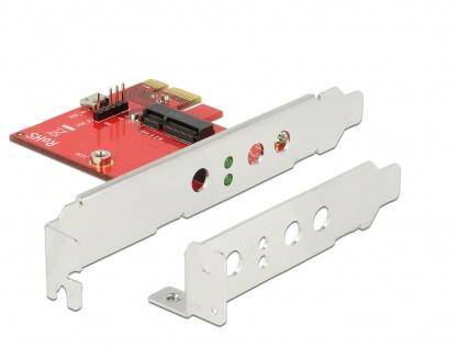 PCI Express la 1 x M.2 Key E - Low Profile Form Factor, Delock 89889