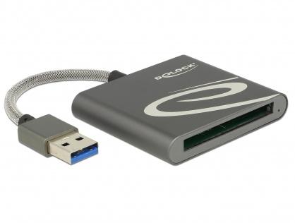 Cititor de carduri USB 3.0 pentru carduri de memorie CFast 2.0, Delock 91525