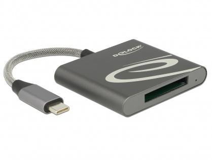 Cititor de carduri USB 3.1-C pentru carduri memorie XQD 2.0, Delock 91746