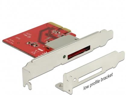PCI Express la 1 slot CFexpress NVME, Delock 91748