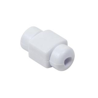 Protectiedin plastic/silicon pentru cablu USB Alb, Logilink AA0091W