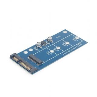 Adaptor SATA 22 pini la M.2 SATA, Gembird EE18-M2S3PCB-01