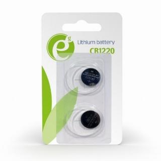 Set 2 buc baterie CR1220 3V Litiu, Energenie EG-BA-CR1220-01