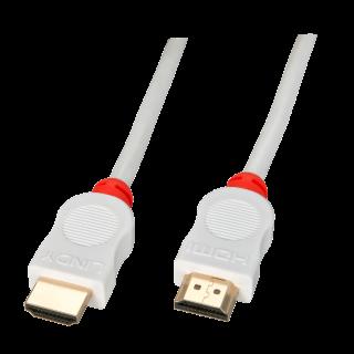 Cablu HDMI v1.4 0.5m T-T Alb, Lindy L41410