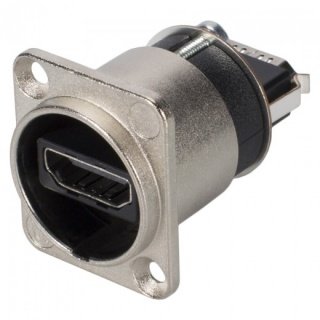 Conector HDMI-A mama tip D montare masa/panou, Neutrik NAHDMI-W