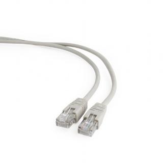 Cablu de retea RJ45 cat 5e 50m UTP Gri, Gembird PP12-50M