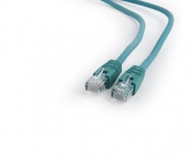 Cablu de retea RJ45 0.25m cat 6 UTP Verde, Gembird PP6U-0.25M/G