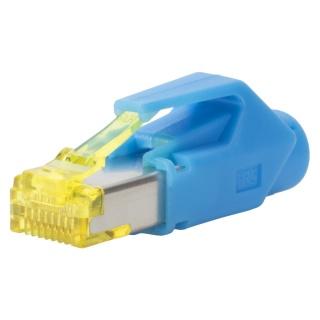 Conector de retea RJ45 cat. 6A Albastru, RJ45C6A-BL