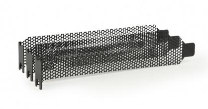 Set 3 buc bracket PCI / PCI-E ventilat/perforat, Gembird SB-02