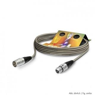 Cablu prelungitor XLR 3 pini T-M 3m Gri, SGHN-0300-GR