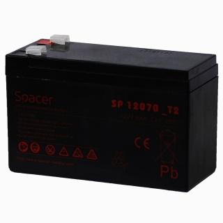 Acumulator UPS 12V/7Ah, Spacer SP-BAT-12V7AH
