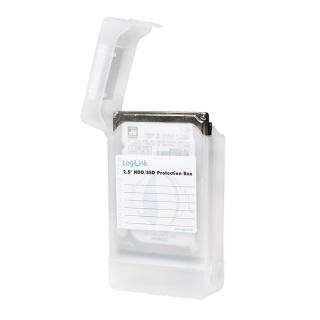 """Carcasa de protectie pentru 2 x HDD 2.5"""" transparent, Logilink UA0277"""