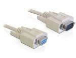 Cablu prelungitor Serial 9T-9M 3m, Delock 84289
