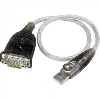 Cablu USB la Serial RS232 0.3m, ATEN UC-232A
