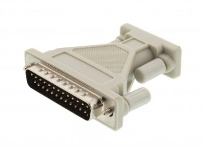 Adaptor DB25 pini la DB9 pini T-M, r29mf