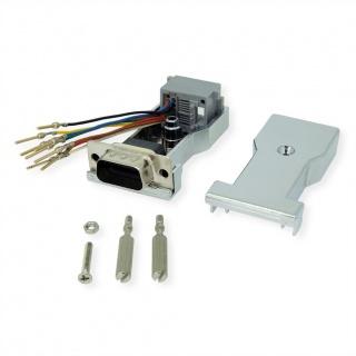 Adaptor serial DB9 la RJ45 T-M, 12.03.7524