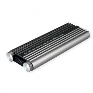 Rack extern USB 3.2 Gen 2x2-C la SSD M.2 NVMe, Roline 16.01.4147