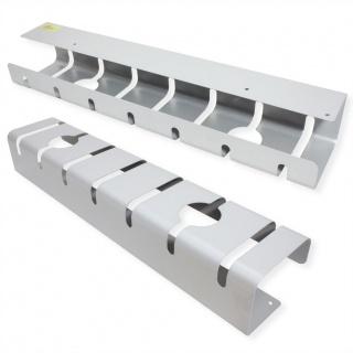 Set 2 bucati organizator cabluri sub birou Argintiu, Roline 17.03.1302