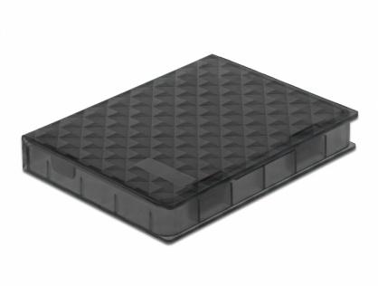 """Carcasa de protectie pentru HDD / SSD 2.5"""" Gri, Delock 18368"""