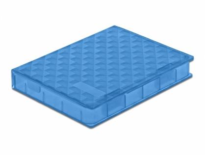 "Carcasa de protectie pentru HDD / SSD 2.5"" Albastru, Delock 18369"